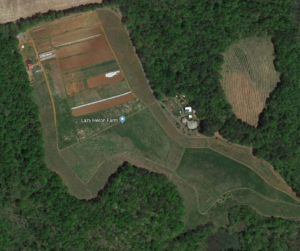 Aerial Image of Stanly County Farm