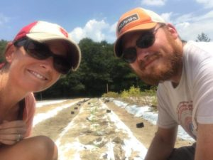 Cover photo for Old Farm, New Farm. John and Jessica Rowe of Cannabis Consortium Breathe Life Into Montgomery County Farm